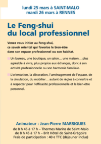 le Feng-sjui du local professionnel